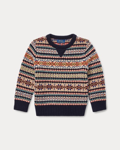 Fair Isle Wool Blend Jumper