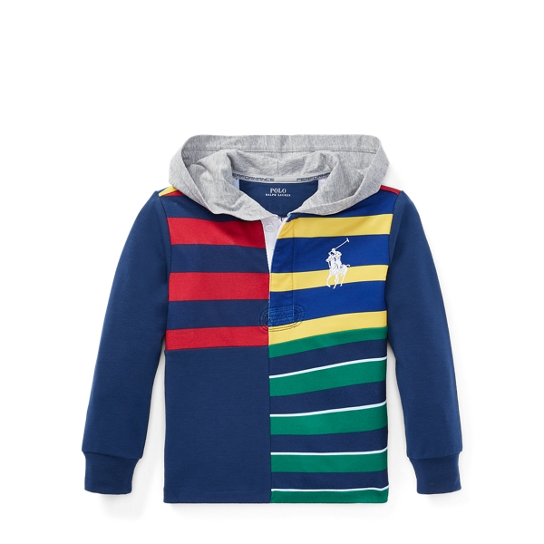 Ralph Lauren Performance Graphic Hoodie Ralph Red 4T