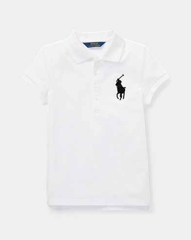 Big Pony Stretch Mesh Polo