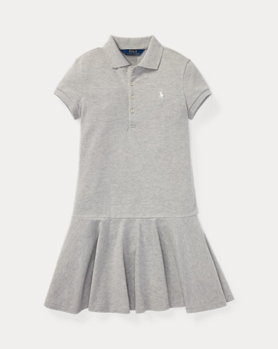 Stretch Pique Polo Dress