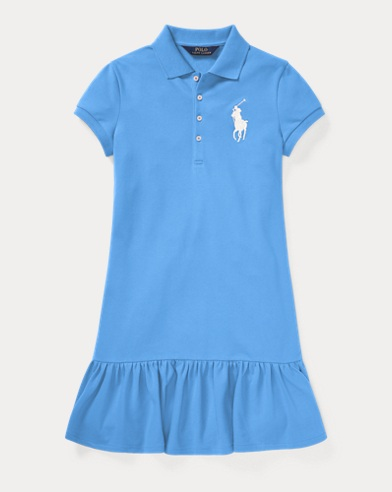 Big Pony Short-Sleeve Dress