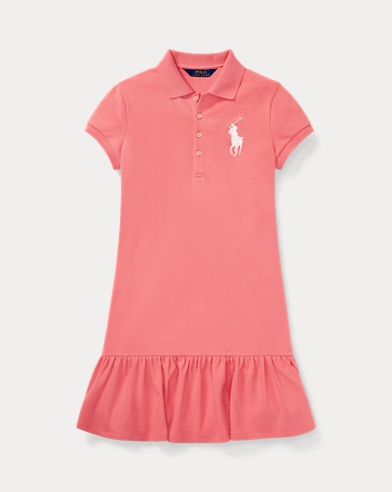 Kurzärmliges Kleid mit Big Pony