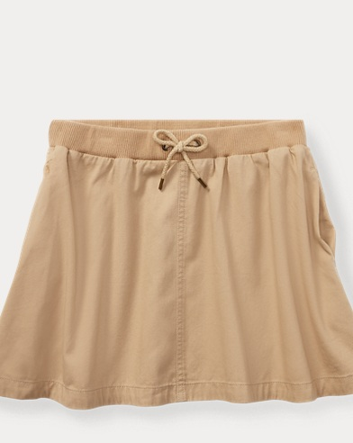 Cotton Chino Skirt