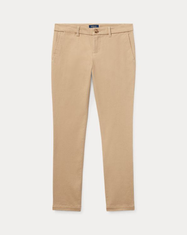 Chino in cotone stretch