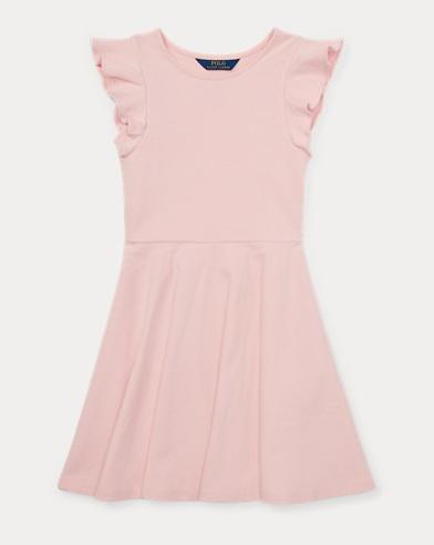 Ruffled Ponte Dress