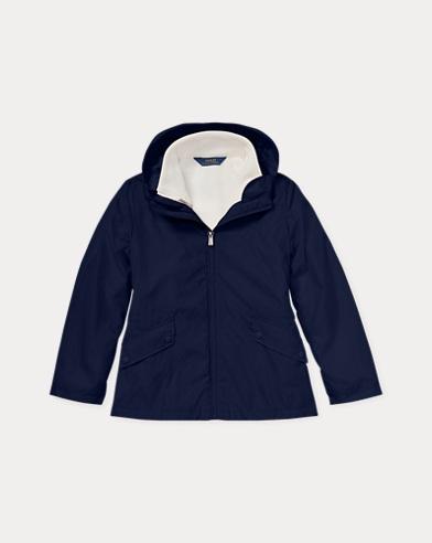 3-in-1-Jacke aus Nylon