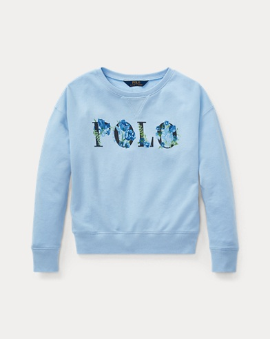 Sweat Polo en coton éponge