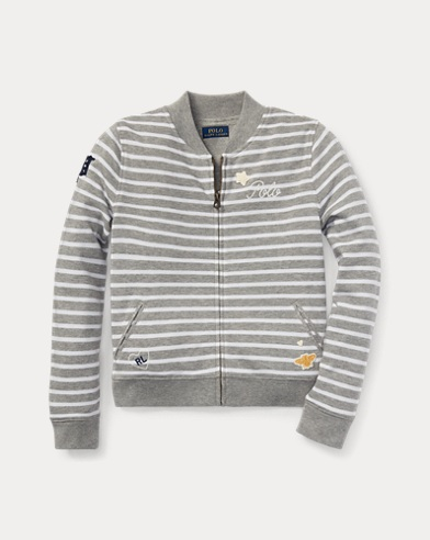 Striped Baseball Jacket