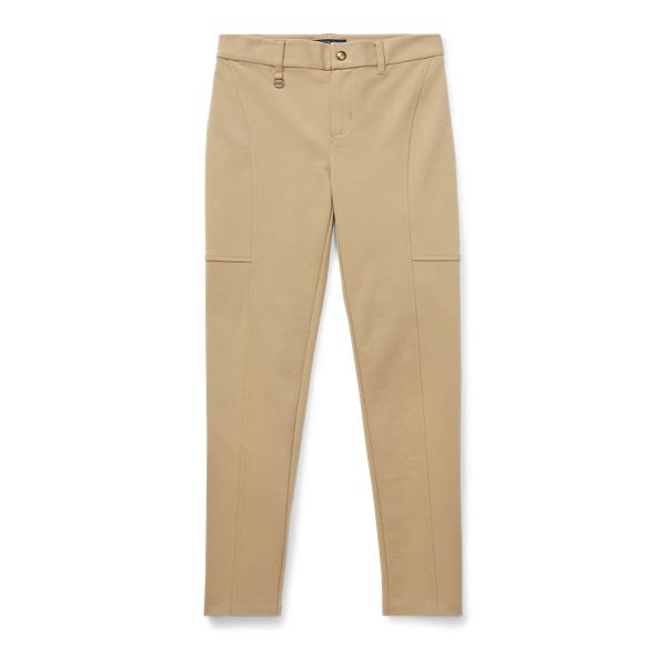 Ralph Lauren Skinny Ponte Pant Fall Khaki M