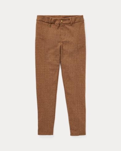 Pantalon skinny à chevrons
