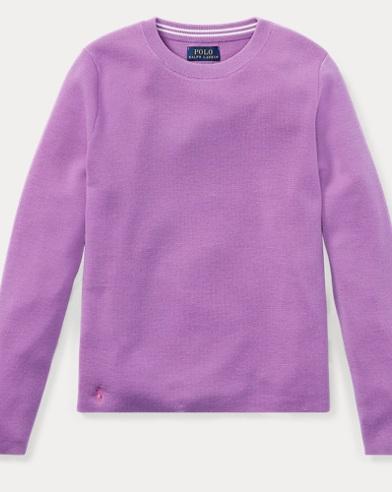 Striped Back Wool Sweater