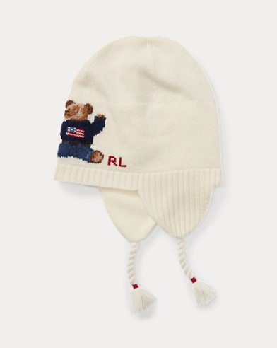Bonnet Polo Bear à rabats