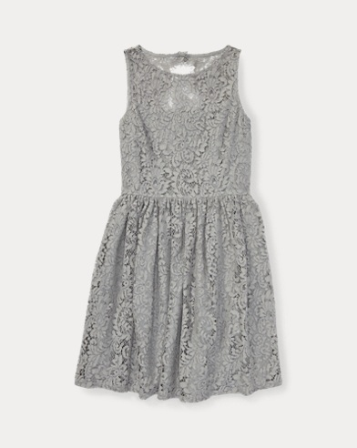 Lace Fit-and-Flare Dress
