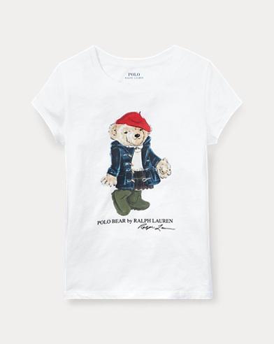 Camiseta de osito Wellie de algodón