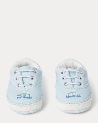 Vaughn II Train-Print Sneaker