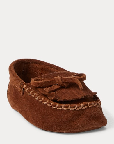 Mila Suede Moccasin