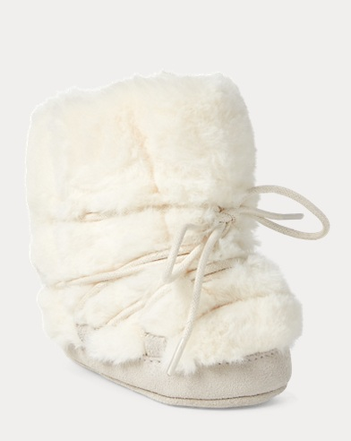 Kimba Faux-Fur-Leather Boot