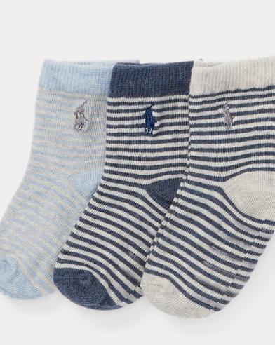 Striped Sock 3-Pack