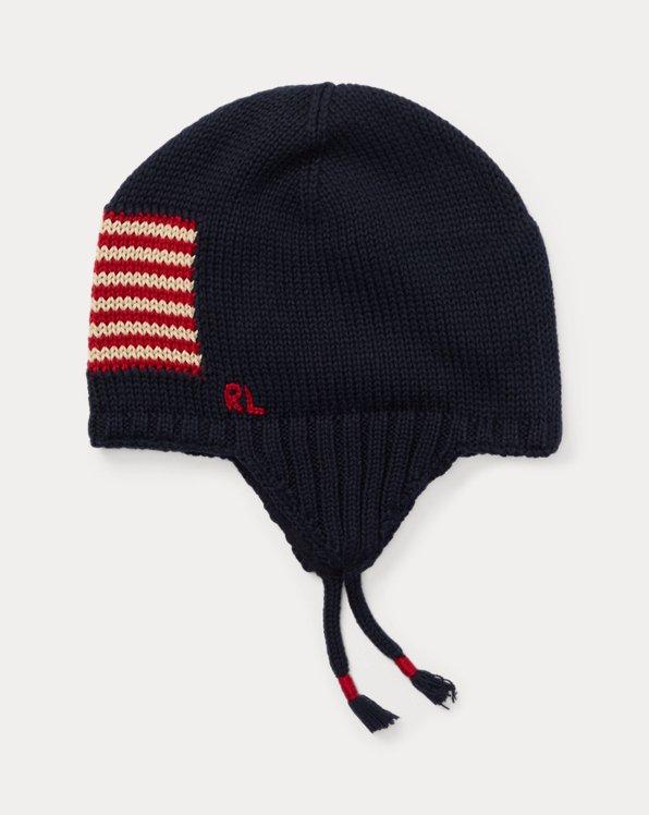Flag Cotton Earflap Hat