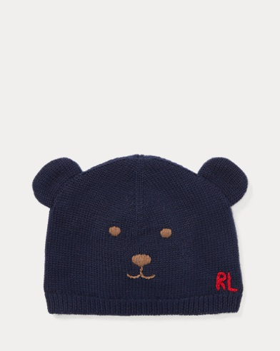 Embroidered Bear Hat