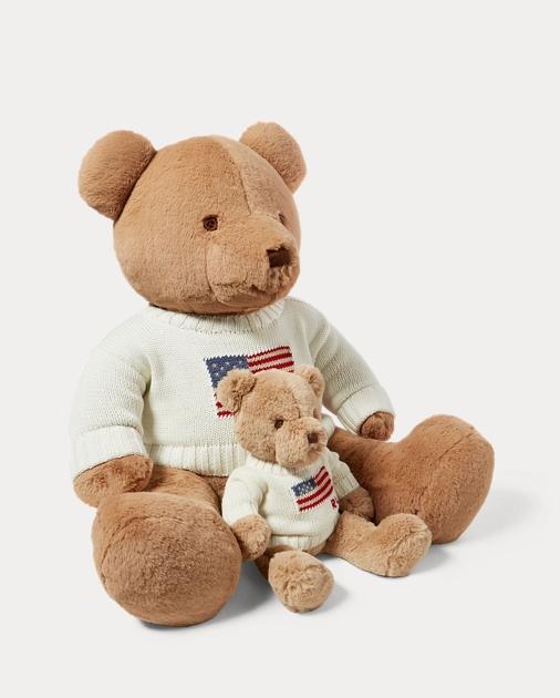 a77a4bd95a7d4 Baby Small Flag-Sweater Polo Bear 2