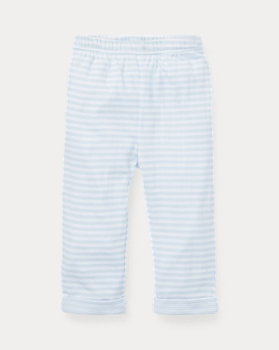 Striped Jacquard Pull-On Pant