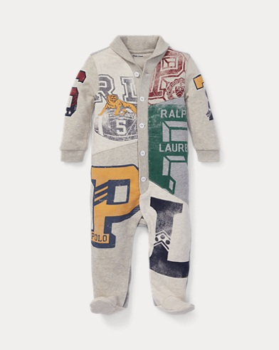 Patchwork Cotton Coverall
