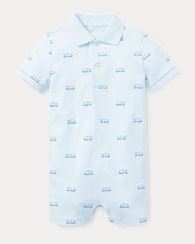 Train Cotton Polo Shortall