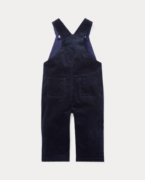 Baby & Toddler Clothing Girls' Clothing (newborn-5t) Salopette Bimba 12 Mesi Ralph Lauren
