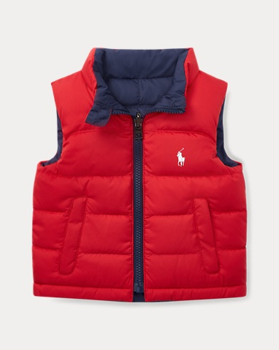 Reversible Ripstop Down Vest