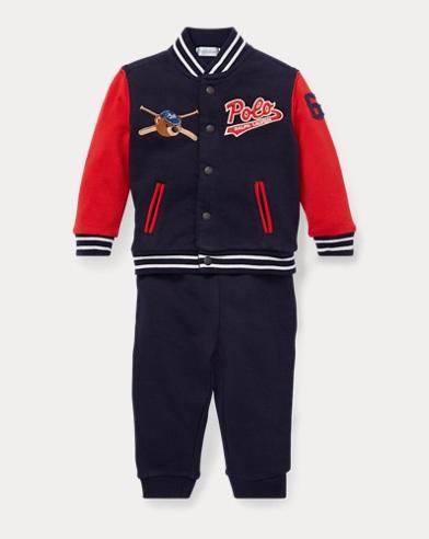 Baseball Jacket & Pant Set