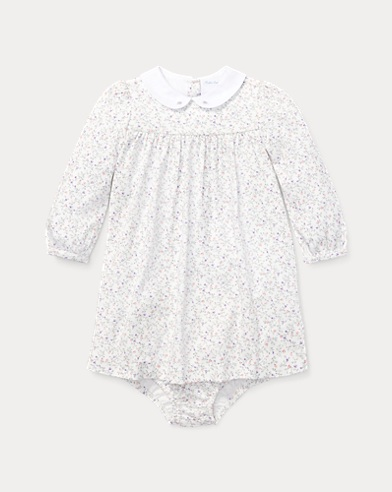 Floral Cotton Dress & Bloomer