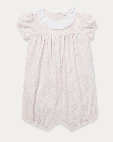 Floral Ruffled Shortall