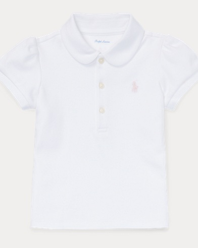 Cotton Interlock Polo Shirt