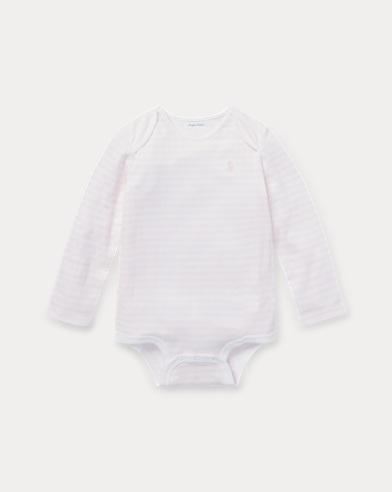 Body per neonato in jacquard