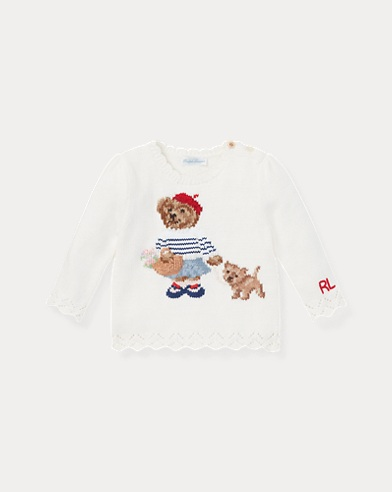 Paris Bear Sweater