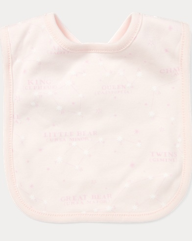 Constellation Cotton Bib