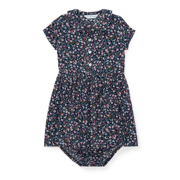 Ralph Lauren Floral Dress & Bloomer Floral 9M