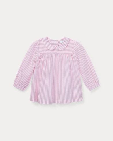 Bengal-Stripe Cotton Top