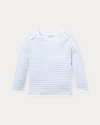 Striped Jacquard T-Shirt