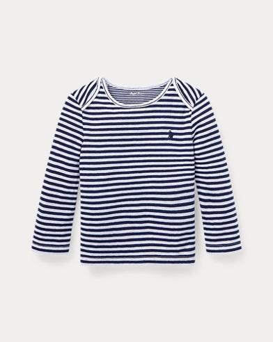 T-shirt en jacquard rayé