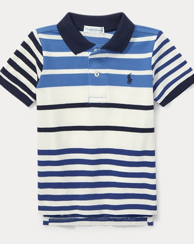 Featherweight Cotton Mesh Polo