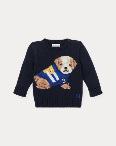 Dog Cotton-Blend Jumper