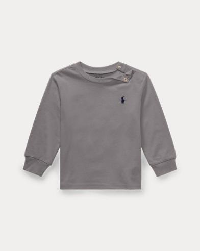 T-shirt à manches longues en coton