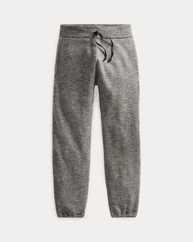 Cotton-Blend-Fleece Sweatpant