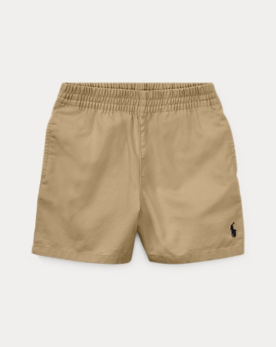 Short chino à enfiler en coton