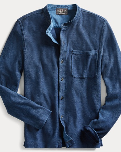 Indigo Jersey Workshirt