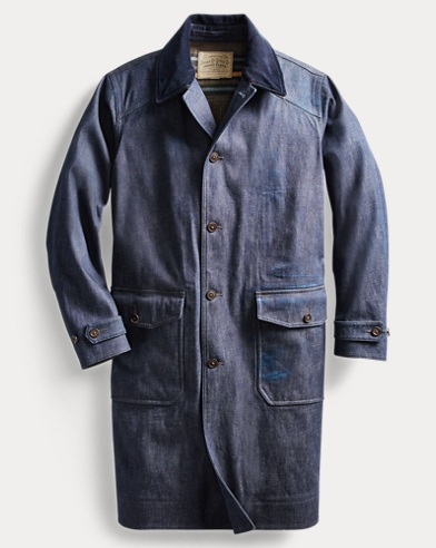 Denim Raincoat