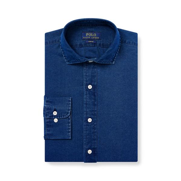 폴로 랄프로렌 셔츠 (슬림핏) Polo Ralph Lauren Slim Fit Indigo Twill Shirt