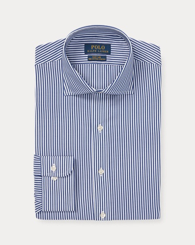 Striped Easy Care Stretch Poplin Shirt - All Fits